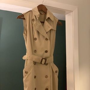 Burberry Brit Trench Vest/Dress • Size 6 (US)